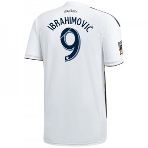 LA Galaxy Home Shirt 2018 with Ibrahimovic  9 printing