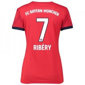Bayern Munich Home Shirt 2018-19 – Womens with Ribéry 7 printing