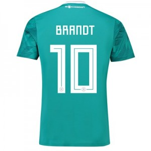 Germany Away Shirt 2018 with Brandt 10 printing