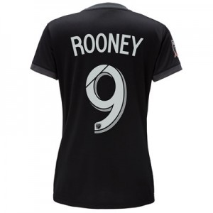 DC United Home Shirt 2018 – Womens with Rooney 9 printing