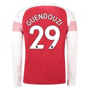 Arsenal Home Shirt 2018-19 – Long Sleeve with Guendouzi  29 printing