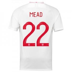 England Home Stadium Shirt 2018 with Mead 22 printing
