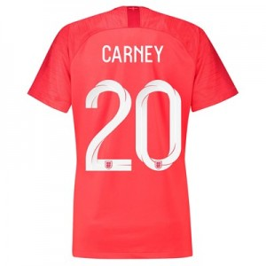 England Away Stadium Shirt 2018 – Womens with Carney 20 printing