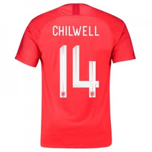 England Away Stadium Shirt 2018 with Chilwell 14 printing