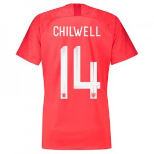 England Away Stadium Shirt 2018 – Womens with Chilwell 14 printing