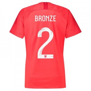 England Away Stadium Shirt 2018 – Womens with Bronze 2 printing