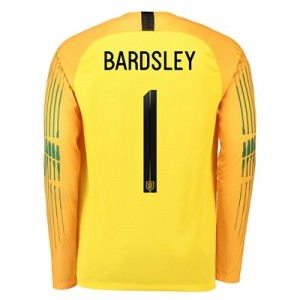 England Goalkeeper Stadium Shirt 2018 with Bardsley 1 printing