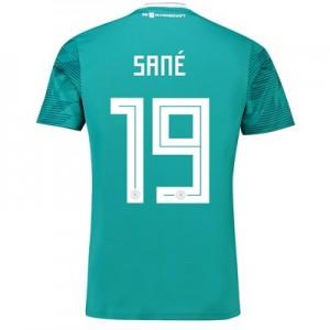 Germany Away Shirt 2018 with Sané 19 printing