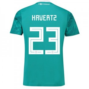 Germany Away Shirt 2018 with Havertz 23 printing