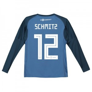 Germany Home Goalkeeper Shirt 2018 – Kids with Schmitz 12 printing