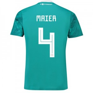 Germany Away Shirt 2018 with Maier 4 printing