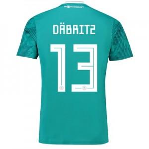 Germany Away Shirt 2018 with Däbritz 13 printing