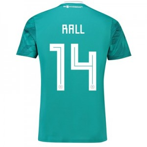 Germany Away Shirt 2018 with Rall 14 printing