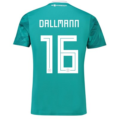 Germany Away Shirt 2018 with Dallmann 16 printing