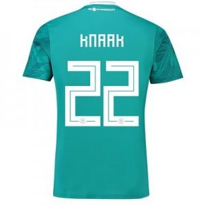 Germany Away Shirt 2018 with Knaak 22 printing