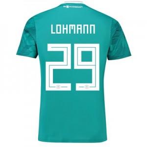 Germany Away Shirt 2018 with Lohmann 29 printing