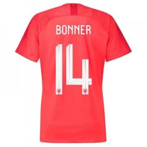 England Away Stadium Shirt 2018 – Womens with Bonner 14 printing