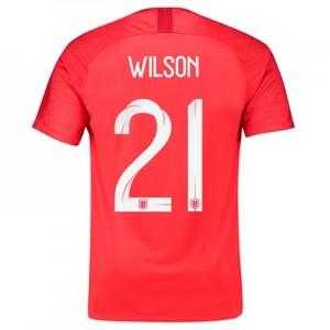 England Away Stadium Shirt 2018 – Men's with Wilson 21 printing