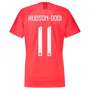 England Away Stadium Shirt 2018 – Womens with Hudson-Odoi 11 printing