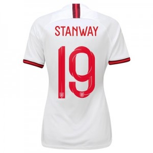 England Home Stadium Shirt 2019-20 – Women's with Stanway 19 printing