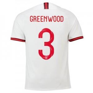 England Home Stadium Shirt 2019-20 – Men's with Greenwood 3 printing