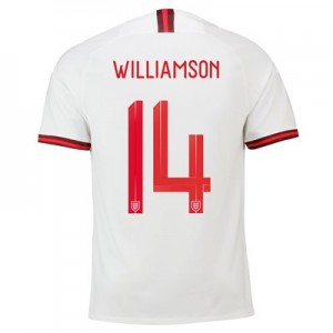 England Home Stadium Shirt 2019-20 – Men's with Williamson 14 printing