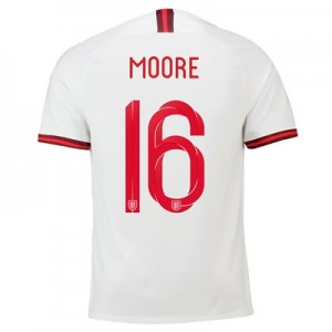 England Home Stadium Shirt 2019-20 – Men's with Moore 16 printing