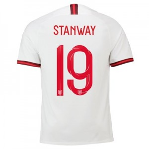 England Home Stadium Shirt 2019-20 – Men's with Stanway 19 printing