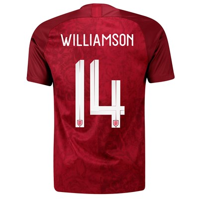 England Away Stadium Shirt 2019-20 – Men's with Williamson 14 printing