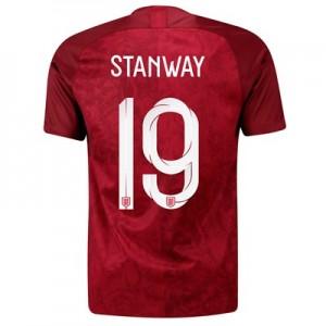 England Away Stadium Shirt 2019-20 – Men's with Stanway 19 printing
