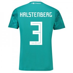 Germany Away Shirt 2018 with Halstenberg 3 printing