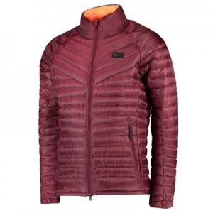 Barcelona Authentic Down Jacket – Maroon