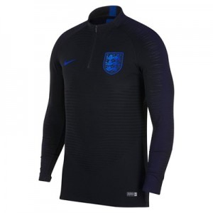 England Strike Vaporknit Drill Top – Black – Kids