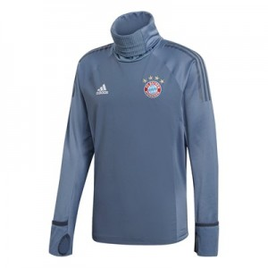 FC Bayern UCL Training Warm Top – Grey