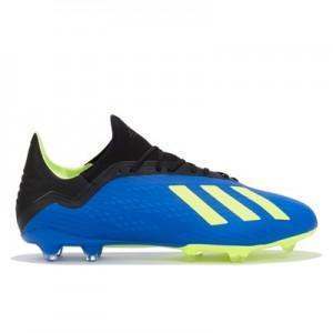 adidas X 18.2 Firm Ground Football Boots – Blue