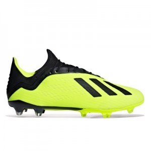 adidas X 18.2 Firm Ground Football Boots – Yellow