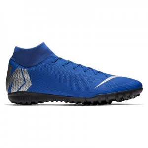 Nike MercurialX Superfly 6 Academy Astroturf Trainers – Blue