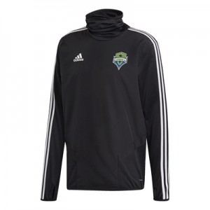 Seattle Sounders Warm Up Top – Black