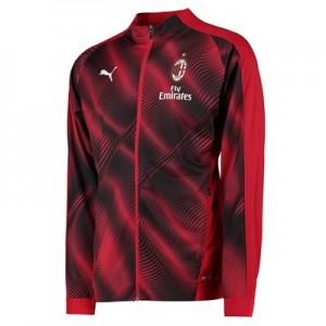 AC Milan Stadium Jacket – Red