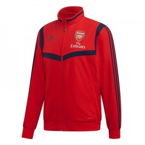 Arsenal Pre Match Jacket – Red