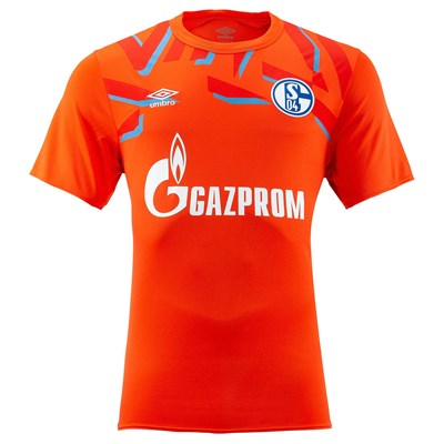 Schalke 04 Home Goalkeeper Shirt 2019-20 – Mens