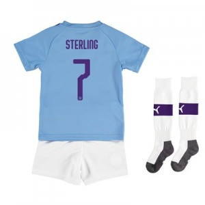 Manchester City Cup Home Mini Kit 2019-20 with Sterling 7 printing