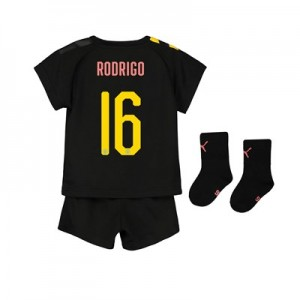 Manchester City Cup Away Baby Kit 2019-20 with Rodrigo 16 printing