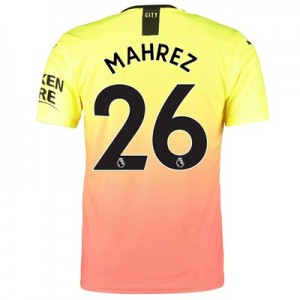 Manchester City Authentic Third Shirt 2019-20 with Mahrez 26 printing