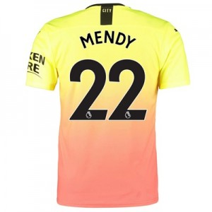 Manchester City Authentic Third Shirt 2019-20 with Mendy 22 printing