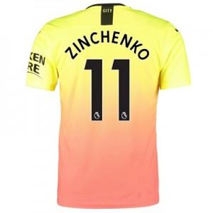 Manchester City Authentic Third Shirt 2019-20 with Zinchenko 11 printing