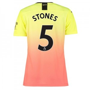 Manchester City Authentic Third Shirt 2019-20 - Womens with Stones 5 printing