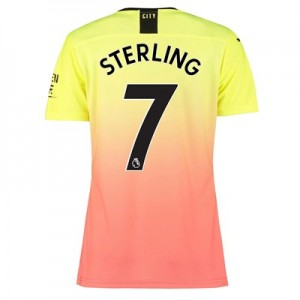 Manchester City Authentic Third Shirt 2019-20 – Womens with Sterling 7 printing