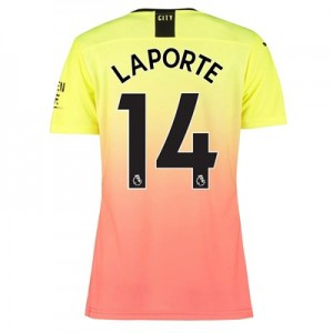 Manchester City Authentic Third Shirt 2019-20 – Womens with Laporte 14 printing