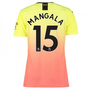 Manchester City Authentic Third Shirt 2019-20 – Womens with Mangala 15 printing